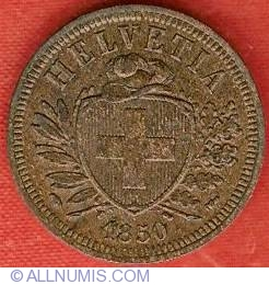 Image #1 of 2 Rappen 1850