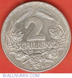 2 Schillings 1946