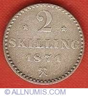 Image #2 of 2 Skilling 1871