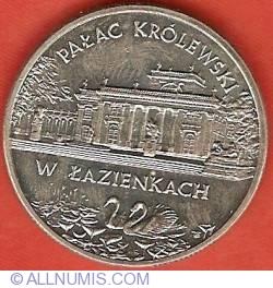 Imaginea #2 a 2 Zlote 1995 - Lazienki Palace