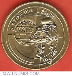 Imaginea #2 a 2 Zlote 1999 - Accession of Poland to NATO