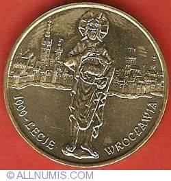 2 Zlote 2000 - Wroclaw Millennium