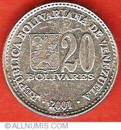 Image #1 of 20 Bolivares 2001