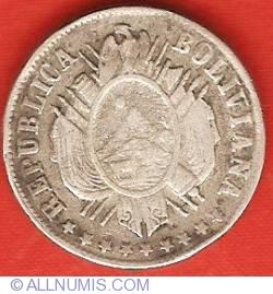 Imaginea #1 a 20 Centavos 1876