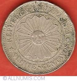 20 Centavos 1879