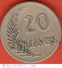 Image #2 of 20 Centavos 1926