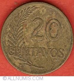 Image #2 of 20 Centavos 1942 S