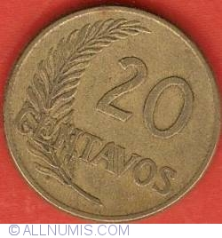Image #2 of 20 Centavos 1942