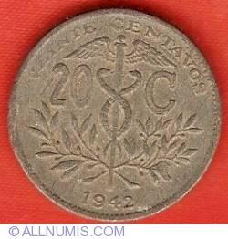 Imaginea #2 a 20 Centavos 1942