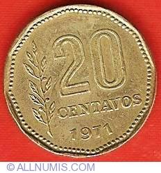 Image #2 of 20 Centavos 1971