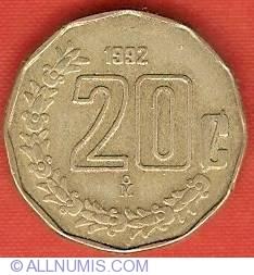 20 Centavos 1992