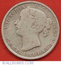 Image #1 of 20 Cents 1880