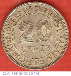 Image #2 of 20 Cents 1939