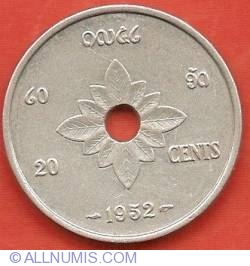 Image #2 of 20 Cents 1952