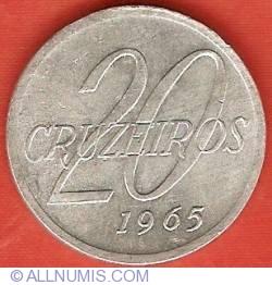 Imaginea #2 a 20 Cruzeiros 1965