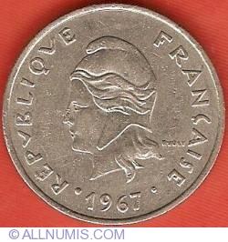 Imaginea #1 a 20 Francs 1967