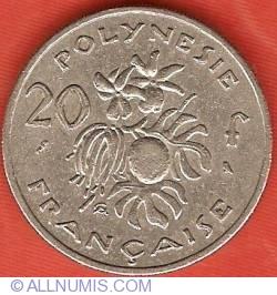 Imaginea #2 a 20 Francs 1967