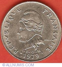 Image #1 of 20 Francs 1979
