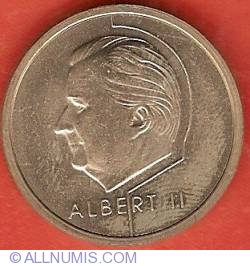 Image #1 of 20 Francs 1994 (Dutch)