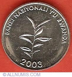 Image #1 of 20 Francs 2003