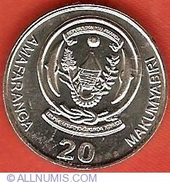 Image #2 of 20 Francs 2003