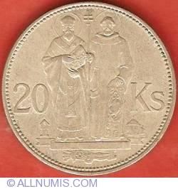 20 Korun 1941 - St. Cyril and St. Methodius