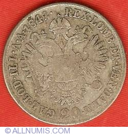 Image #2 of 20 Kreuzer 1841 A