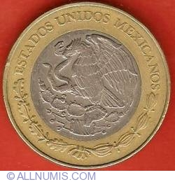 Image #1 of 20 Pesos 2000 - Octavio Paz