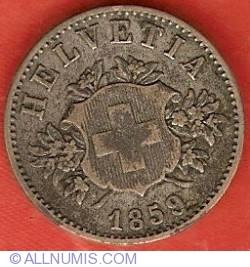 Imaginea #1 a 20 Rappen 1859
