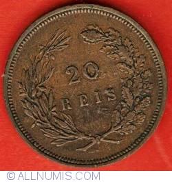 Imaginea #2 a 20 Reis 1892