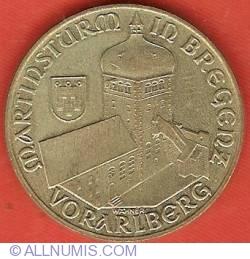 20 Schilling 1993 - Martinsturm In Bregenz