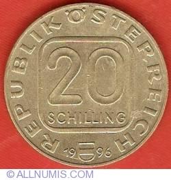 20 Schilling 1996 - Anton Bruckner