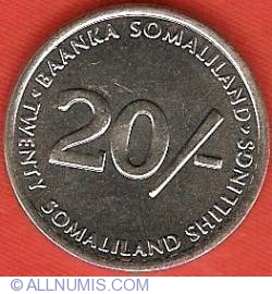Imaginea #1 a 20 Shillings 2002