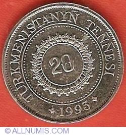 Image #2 of 20 Tenge 1993