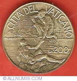 Image #2 of 200 Lire 1998 (XX)