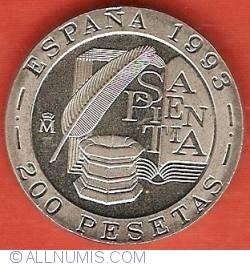 Image #2 of 200 Pesetas 1993