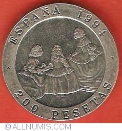 Image #2 of 200 Pesetas 1994