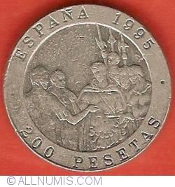 Image #2 of 200 Pesetas 1995