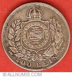 Image #2 of 200 Reis 1868