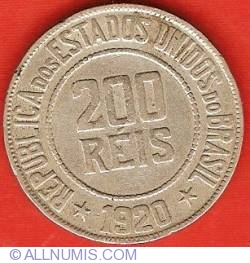 Imaginea #1 a 200 Reis 1920