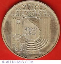 Image #2 of 2000 Nuevos Pesos 1984