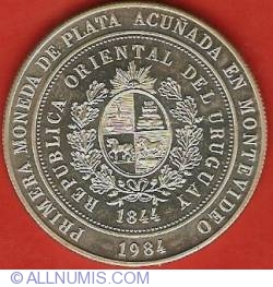 Imaginea #1 a 2000 Nuevos Pesos 1984 - XXI BID Governors Assembly