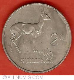 Imaginea #2 a 2 Shillings 1964