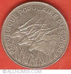 Imaginea #2 a 100 Francs 1972
