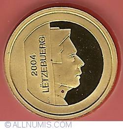 10 Euro 2004 - Culture Roman Mask Of Hellange