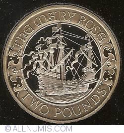 Image #1 of 2 Pounds 2011 - Aniversarea de 500 ani a lui Mary Rose