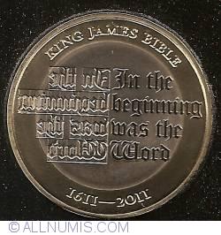 Image #1 of 2 Pounds 2011 - Aniversarea de 500 ani ai Bibliei de King James