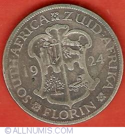 Image #2 of 1 Florin 1924