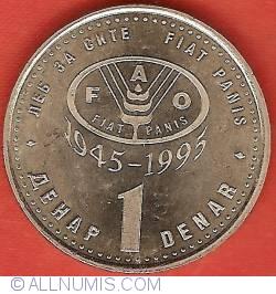 1 Denar 1995 FAO
