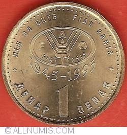 1 Denar 1995 - FAO